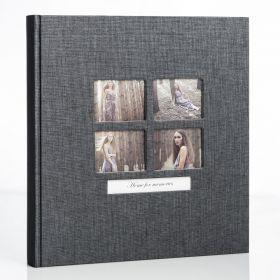 Album GOLDBUCH Classic Style Schwarz 31x30 / 20 kart