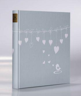 Album Goldbuch 30x31 Poetry Blue 30 kart