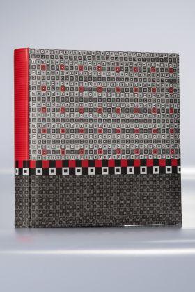 Album Goldbuch Karree 50 kart 30x31 czarno-czerwony
