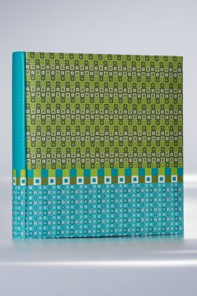 Album Goldbuch Karree 50 kart 30x31 turkusowo-zielony