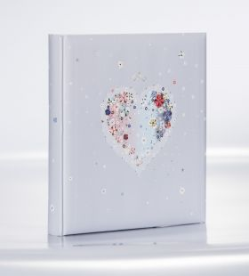 Album Goldbuch Hearts of Flowers 30x31 30 kart