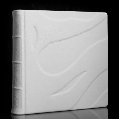 Album Exclusive BLANC - skóra naturalna 33x33cm  /50 kart