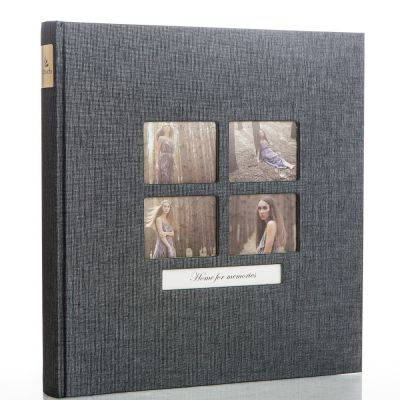 Album GOLDBUCH Classic Style Schwarz BL 31x30 / 50 kart