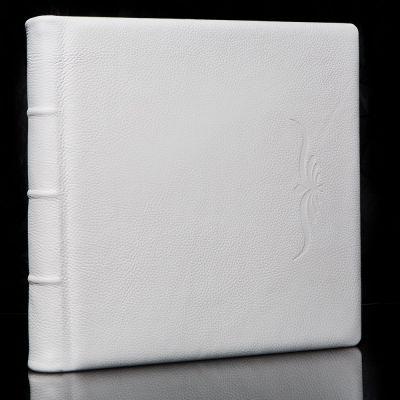 Album Exclusive - skóra naturalna biała M05 33x33cm/50 kart