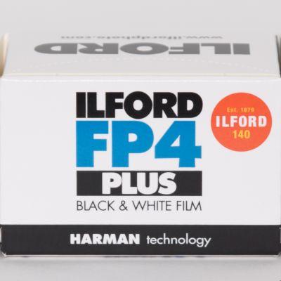 Film czarno-biały Ilford FP4 125