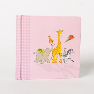 Album Goldbuch Happy Animals pink /200zdjęć10x15
