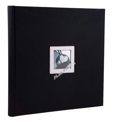 Album WALTHER Black&White 25 kart 26x26 czarny