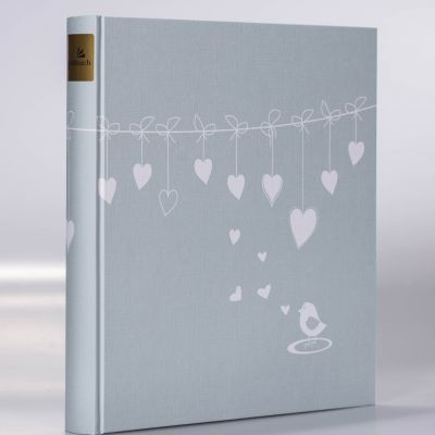 Album Goldbuch 30x31 Poetry Blue 30 kart