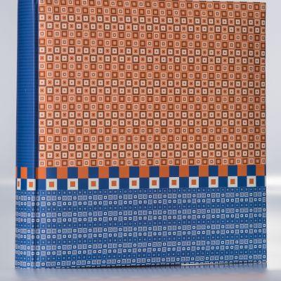 Album Goldbuch Karree 50 kart 30x31 niebiesko-pomarańczowy