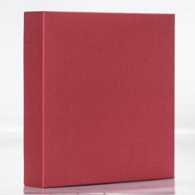 Pudełko na album lniane Bordowe 37x37