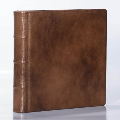 Album Exclusive - skóra naturalna 33x33cm/50 kart