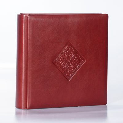 Album Włoski 31x31 Elite Rosso Antico Rombo 50 kart
