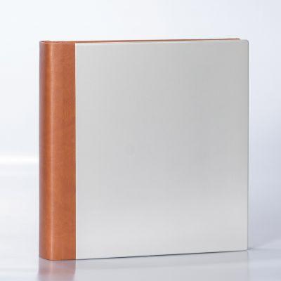 Album Włoski 31x31 Shine Bianco Marrone 50 kart