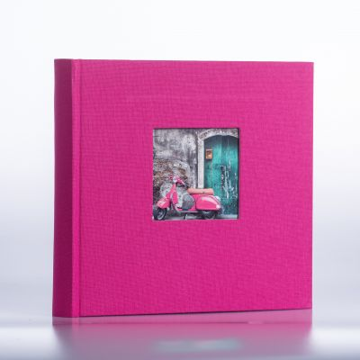 Album Goldbuch Bella Vista - różowy czarna karta / 200 zdjęć 10x15