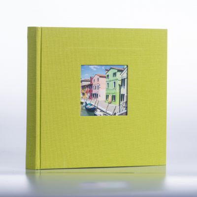 Album Goldbuch Bella Vista - zielony czarna karta / 200 zdjęć 10x15