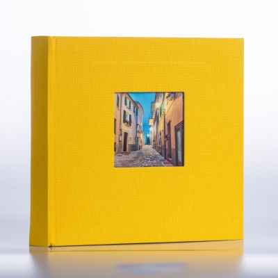 Album Goldbuch Bella Vista - żółty czarna karta / 200 zdjęć 10x15
