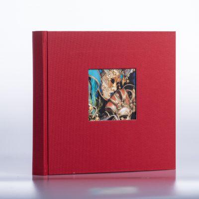 Album Goldbuch Bella Vista - czerwony czarna karta / 200 zdjęć 10x15