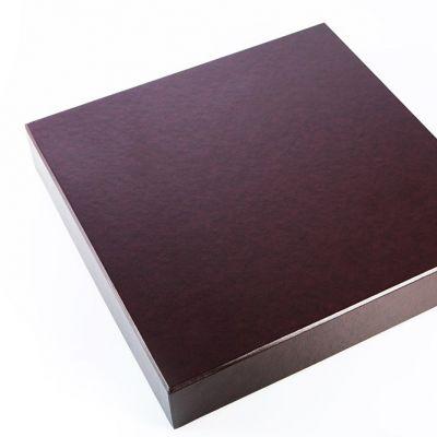 Pudełko na album Bordowe 32x32