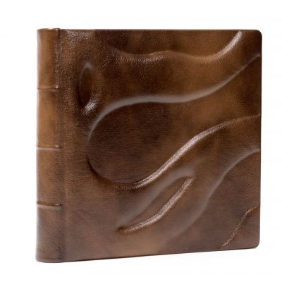 Album Exclusive - skóra naturalna 33x33cm  /50 kart