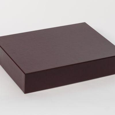 Pudełko na album Bordowe 27x37