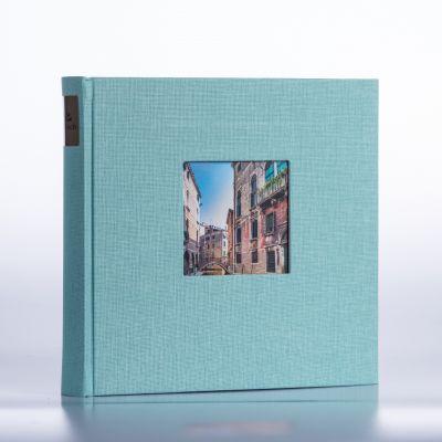Album Goldbuch Bella Vista - miętowy czarna karta / 200 zdjęć 10x15