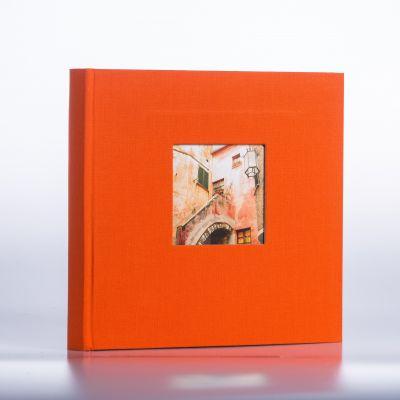 Album Goldbuch Bella Vista - pomarańczowy czarna karta / 200 zdjęć 10x15