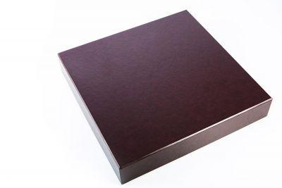 Pudełko na album Bordowe 27x27