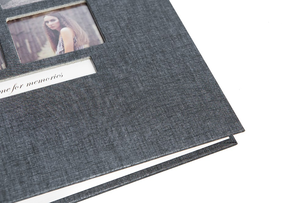 Album GOLDBUCH Classic Style Schwarz 31x30 / 50 kart