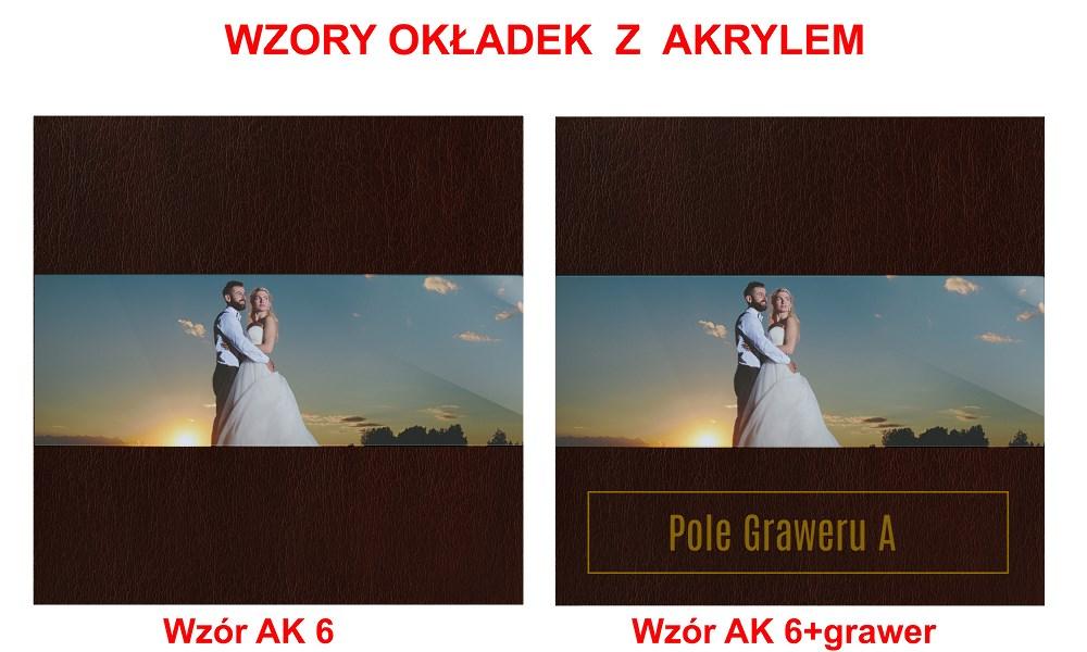 Fotoalbum 20x20cm Exclusive+Akryl