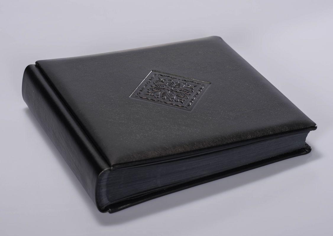 Album Włoski 31x31 Elite Nero Rombo 50 kart