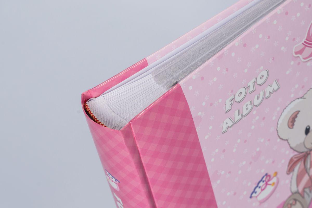 Album dziecięcy Bear Pink 200 zdjęć 10x15